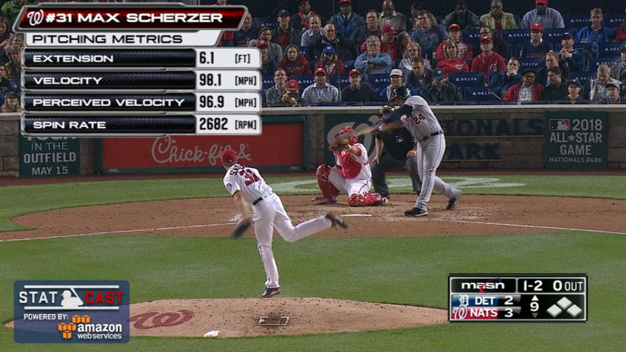 Scherzer saved season's best pitches for Miggy