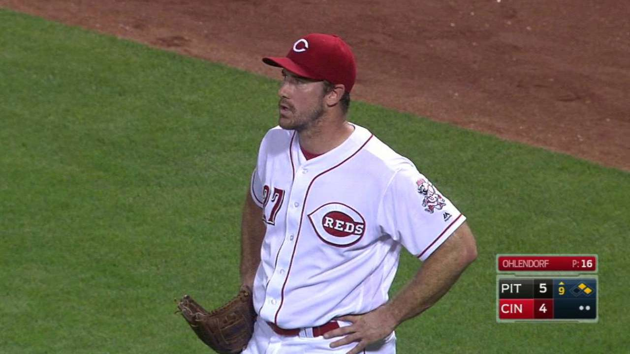 Given 3-game punishment, Ohlendorf appeals