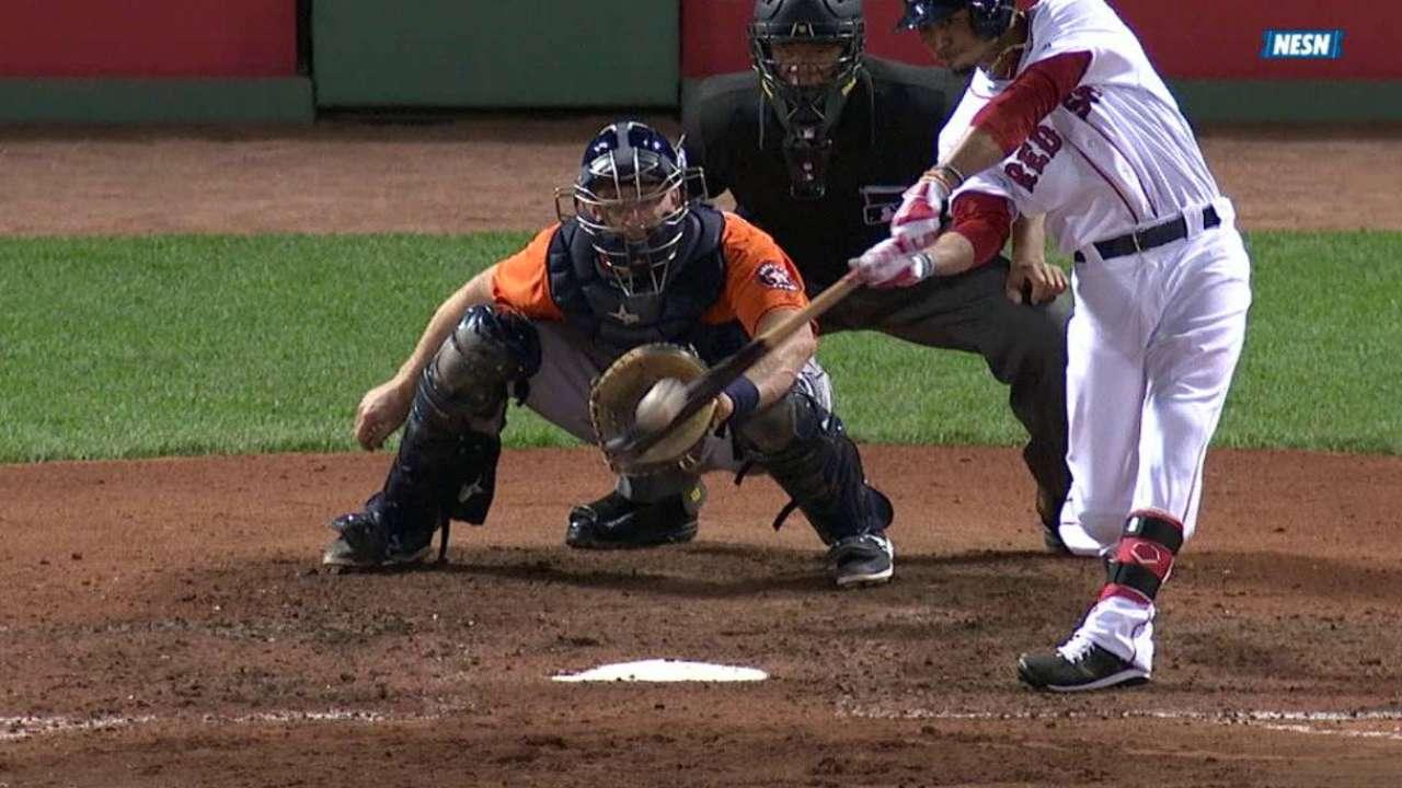 Betts' three-run home run