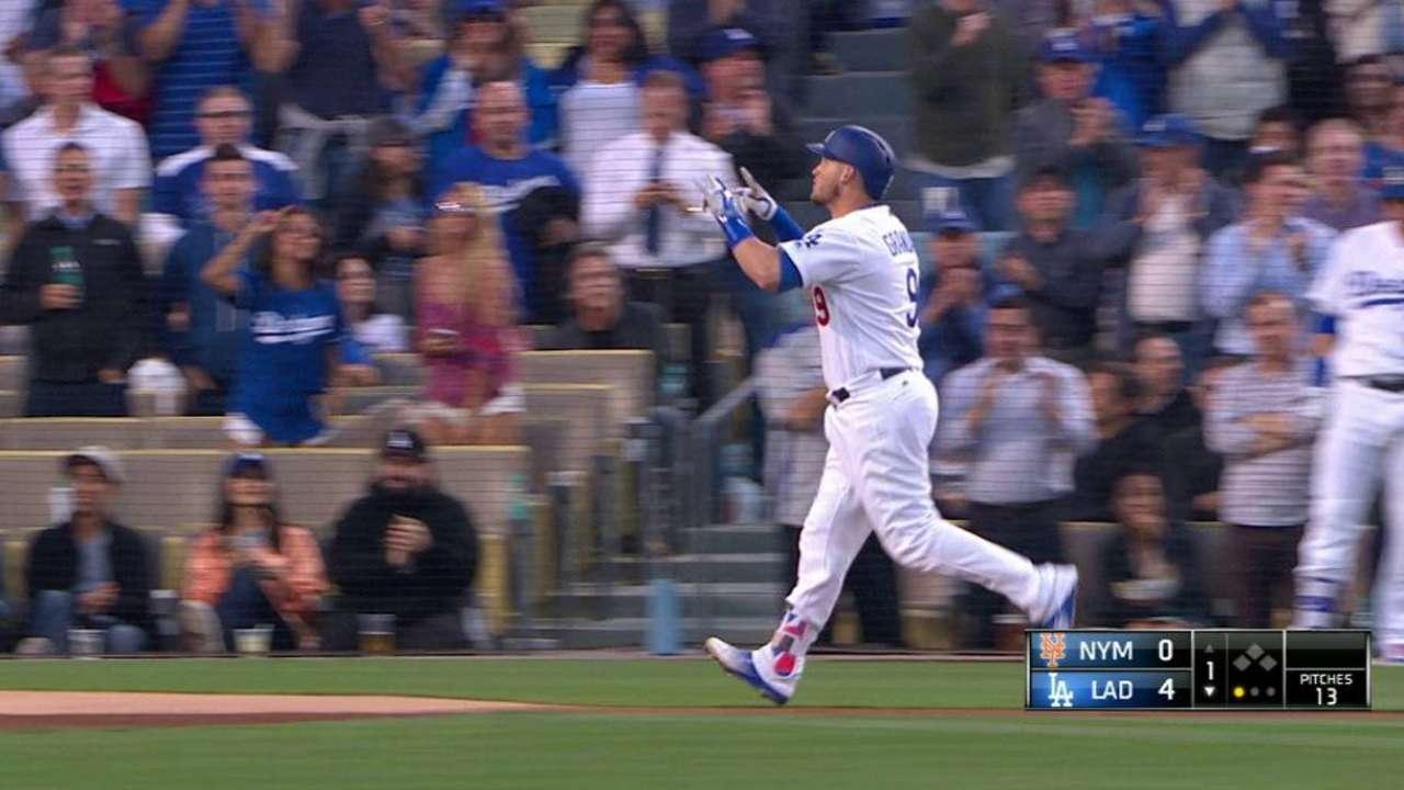 Kershaw lanza la ruta y Dodgers doblegan a Mets