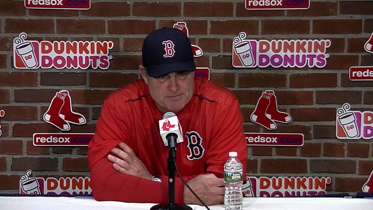 Farrell on the 11-1 win