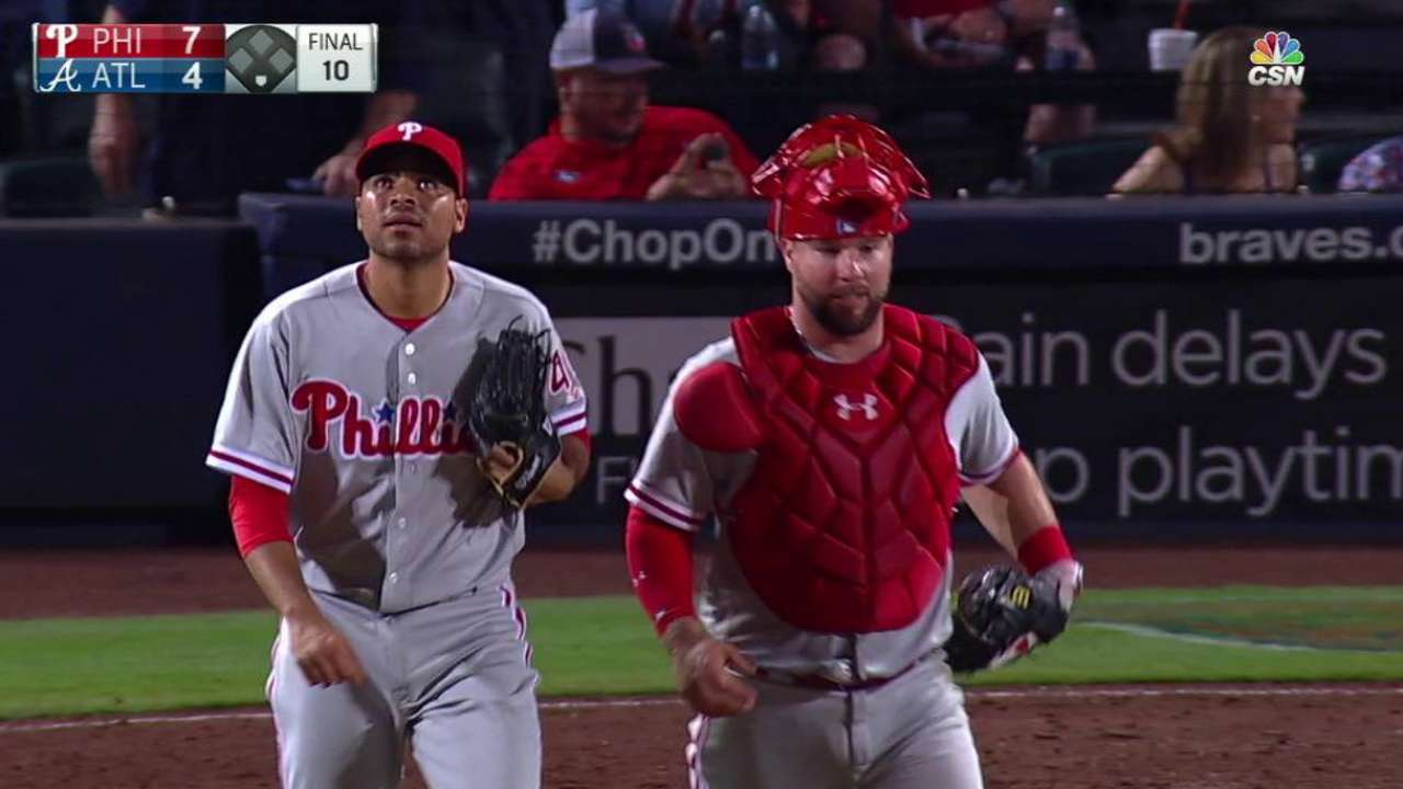 Gomez gets the save