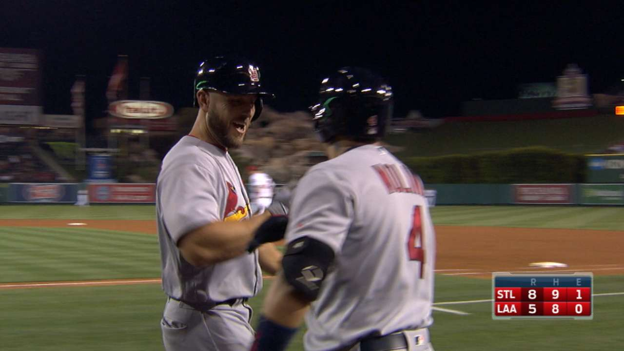 Holliday's two-homer game