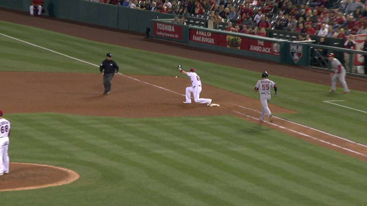 Angels' no-quit mentality key during struggles