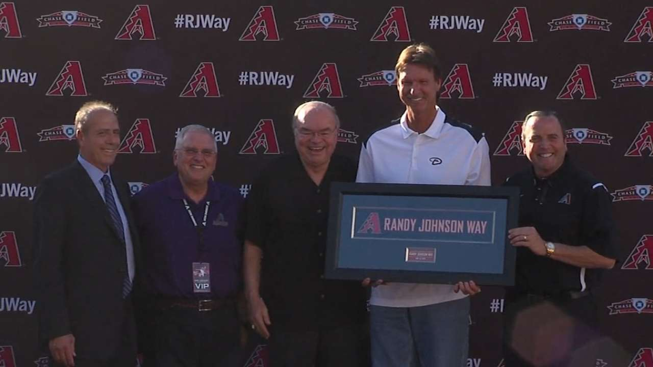 Big Unit honored with renamed street