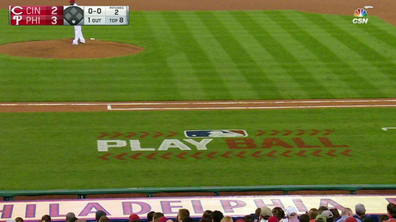 Phillies on Play Ball Weekend