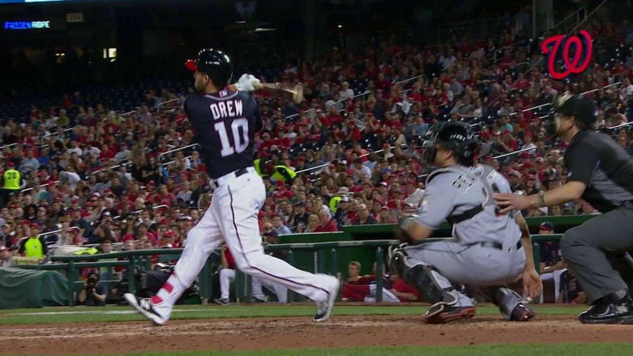 Drew's game-tying homer