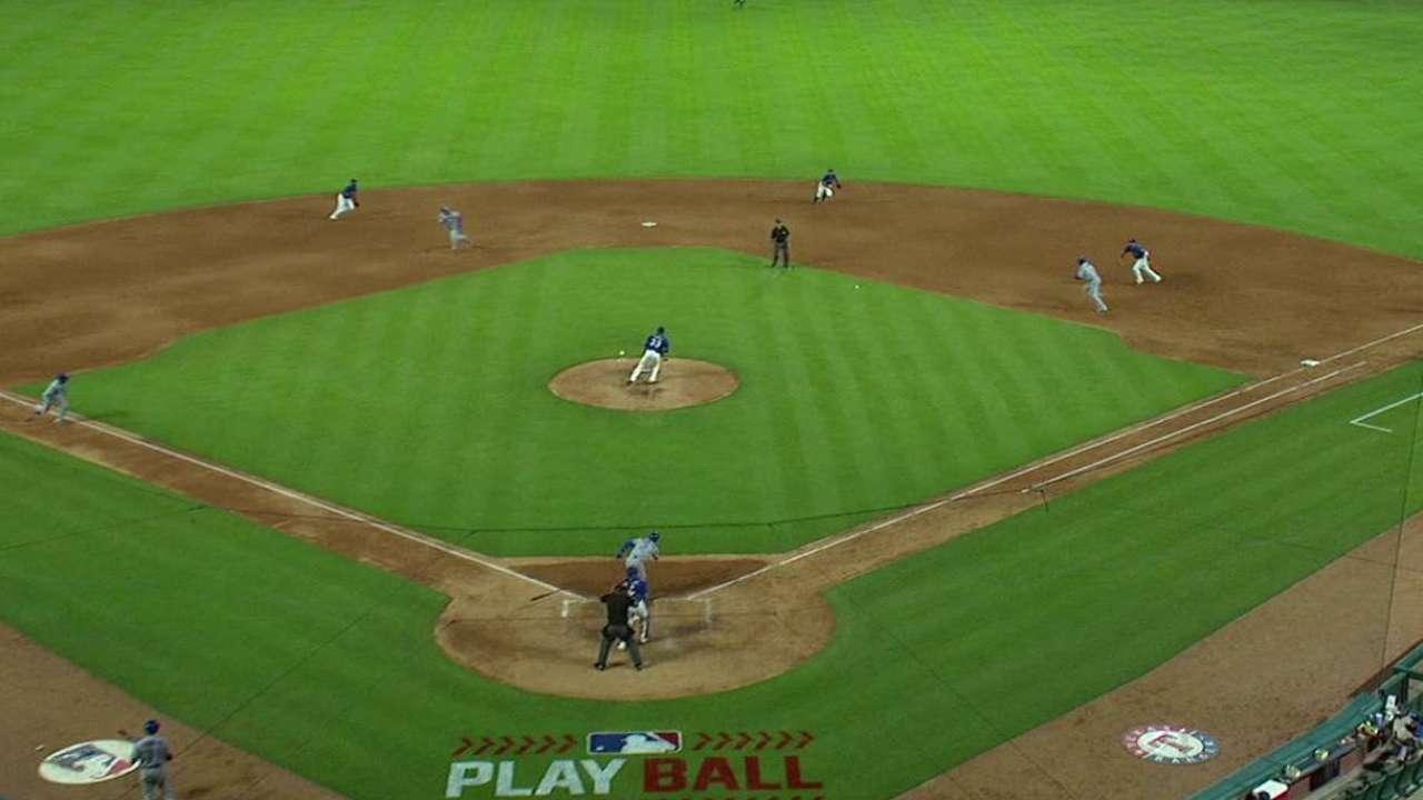 Tulo's RBI fielder's choice