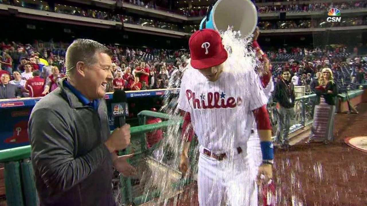 Goeddel on Phillies' win