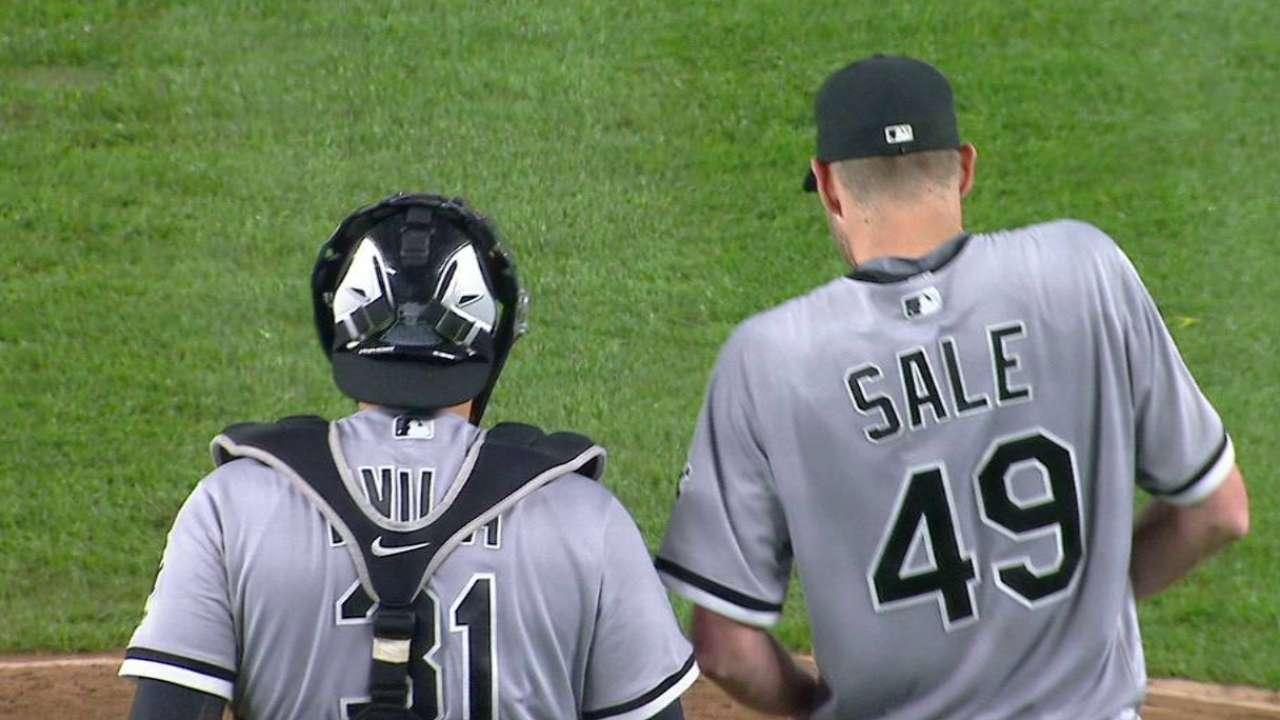 Sale llega a ocho victorias y Medias Blancas vencen a Yankees