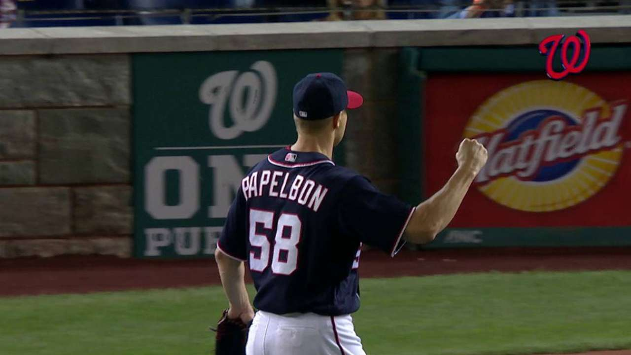 Papelbon closes out the 9th