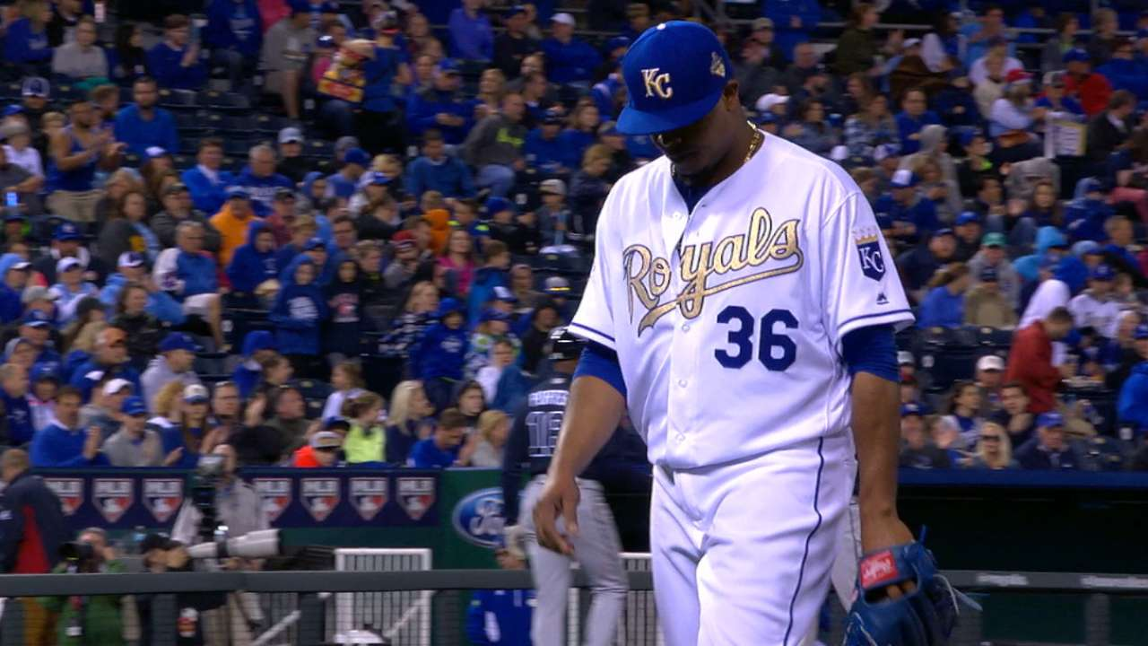 Volquez enjoys being in zone against Braves