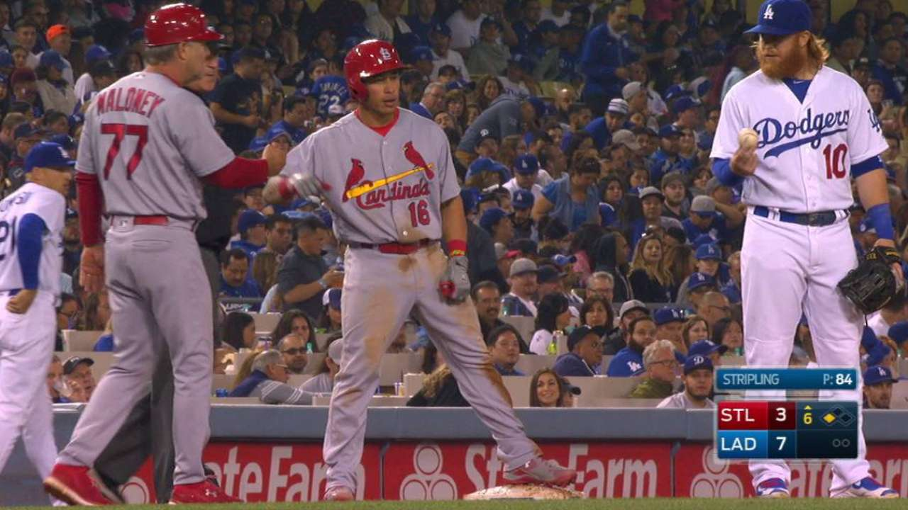Wong's second triple of the game