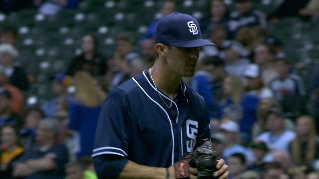 Friedrich delivers just what the Padres needed