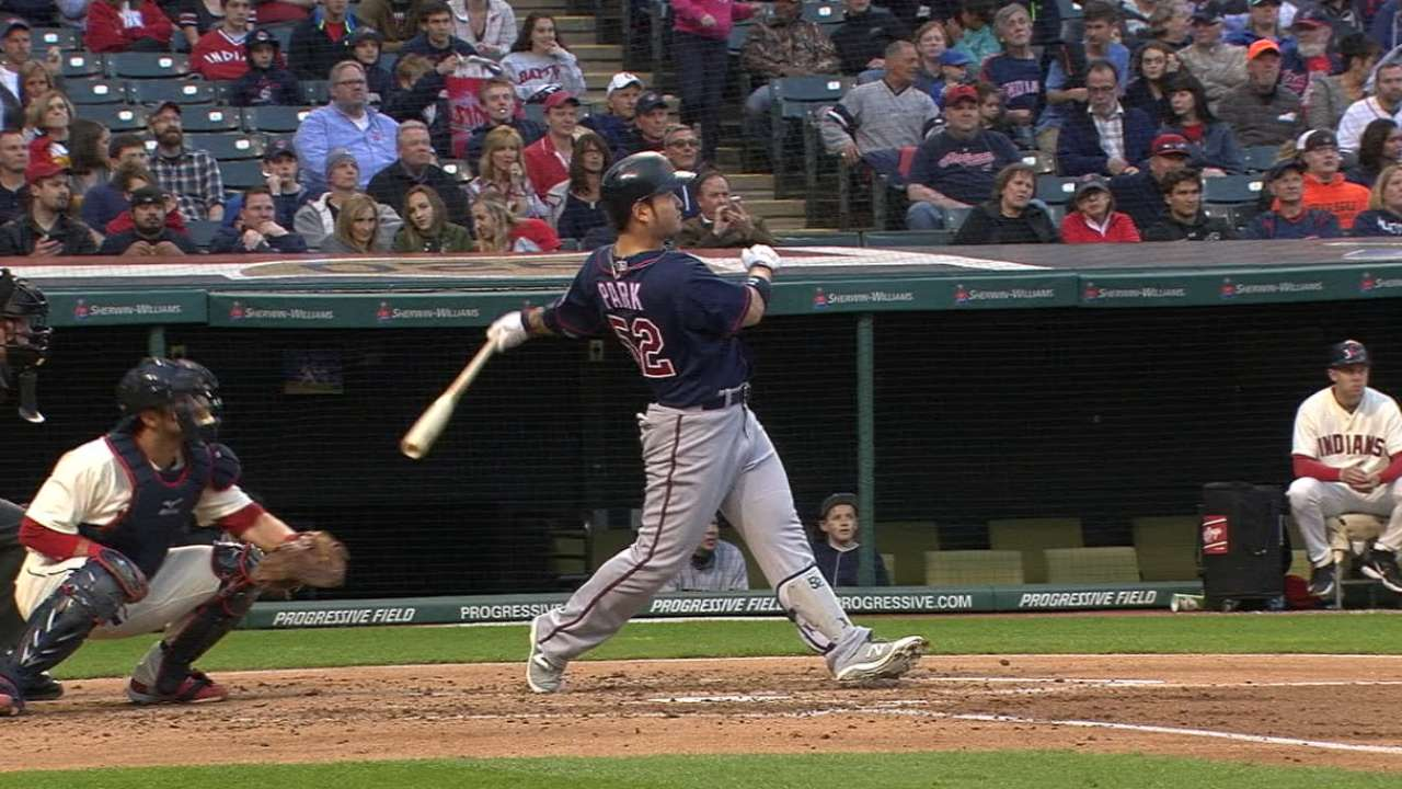Park's two-homer game