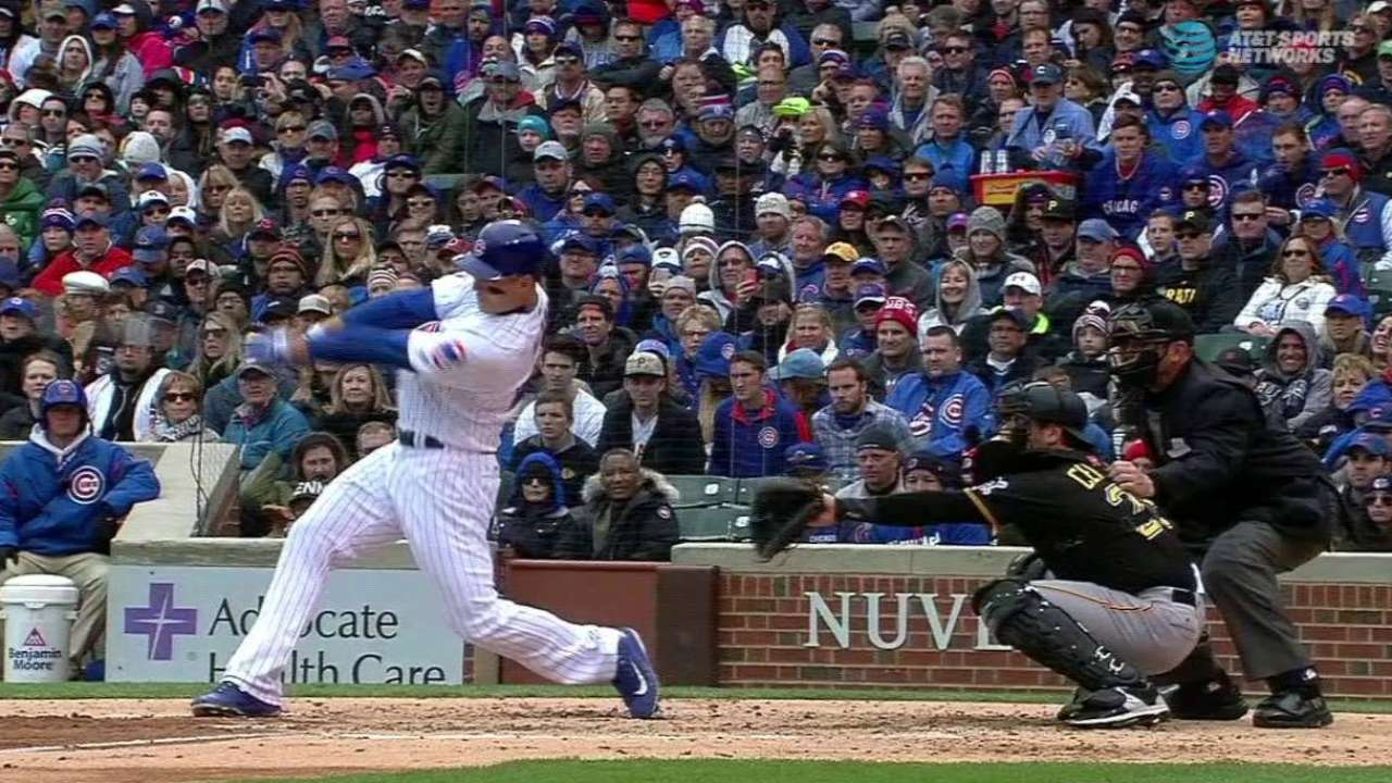 Rizzo's homer to right-center