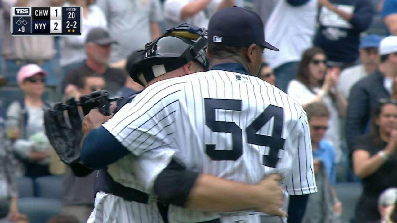 Yankees unleash full power of bullpen