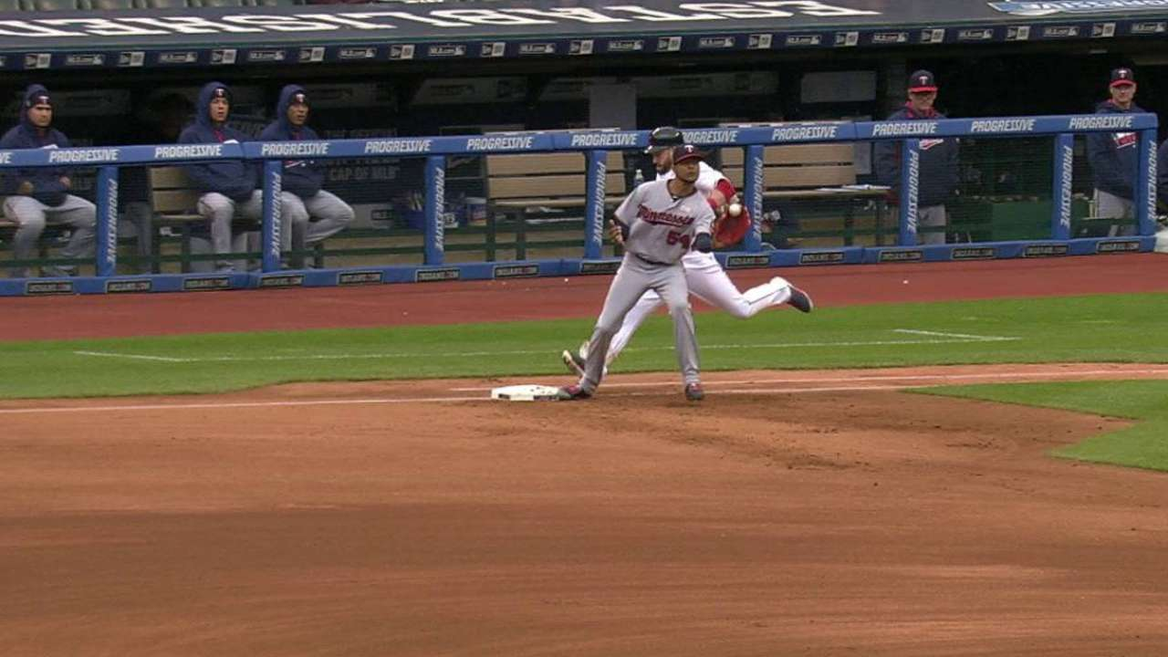 Twins turn double play