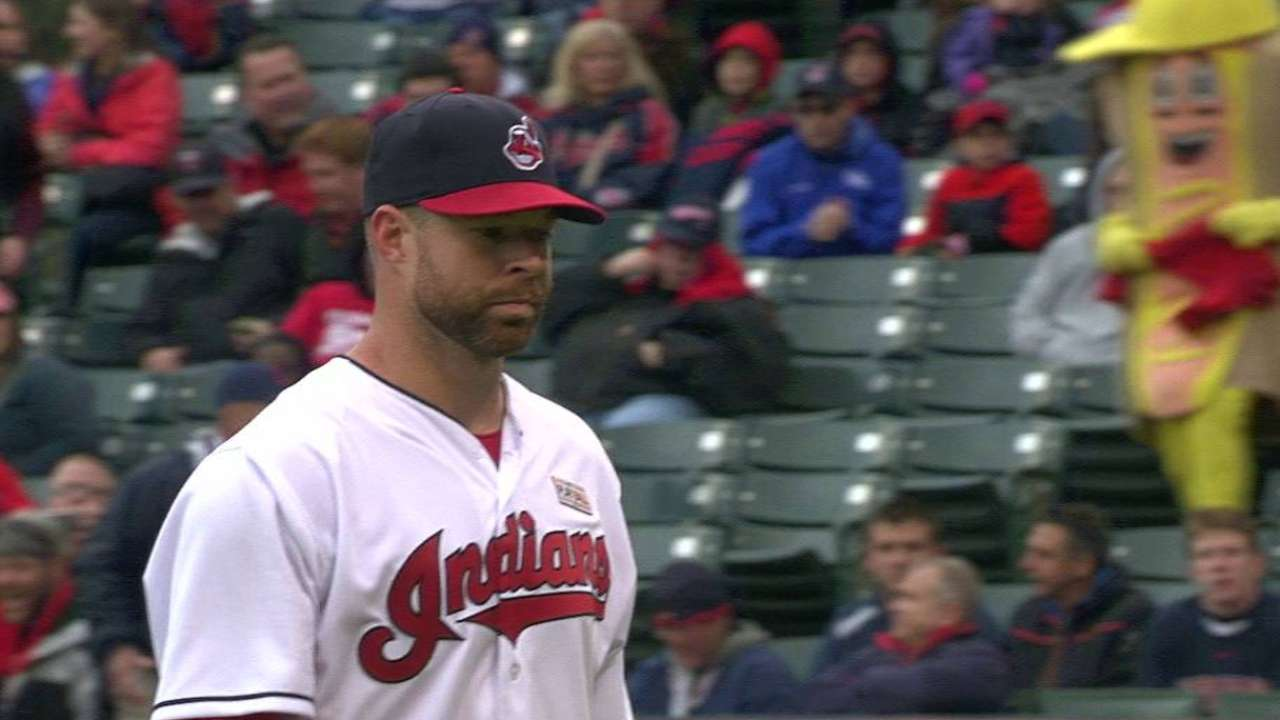 Black and blue: Kluber, Tribe lament misses
