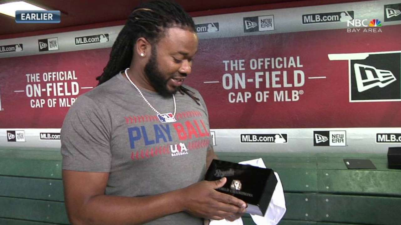 Cueto savors World Series time with KC