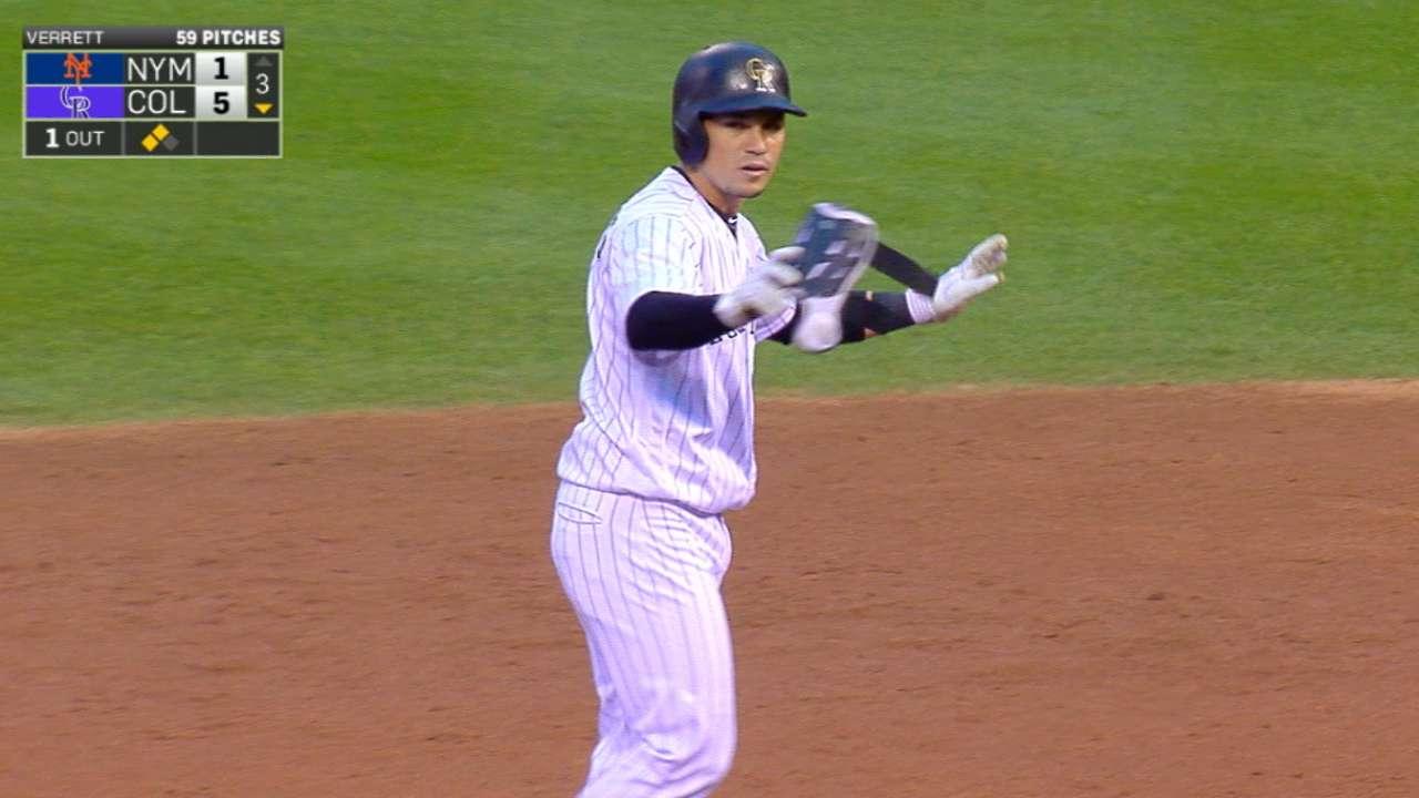 Rox rock Verrett, hold off Mets to take series