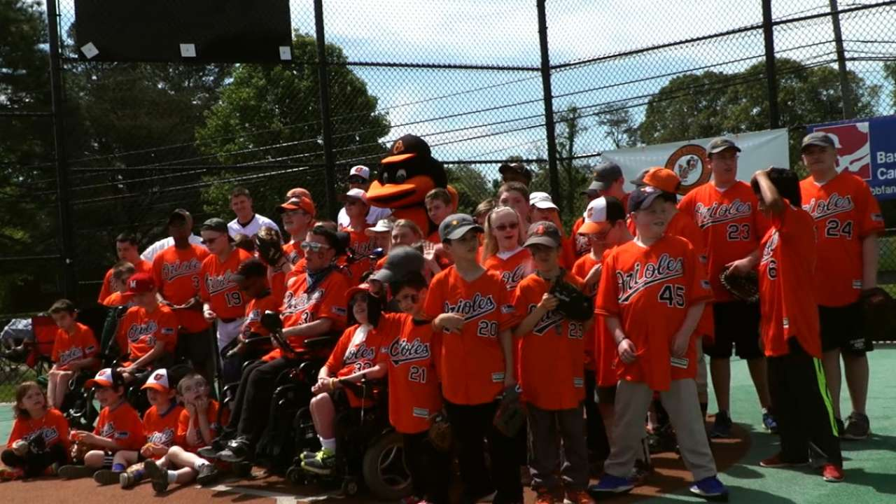 Orioles Play Ball Clinic