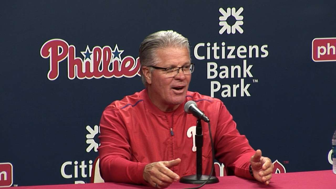 Mackanin on Phillies' 4-3 win