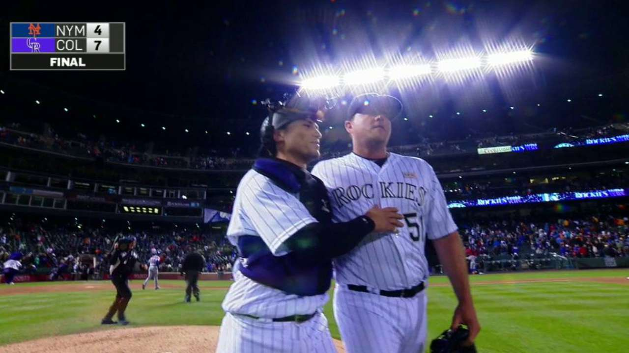 Stingy bullpen makes Rox early lead stick