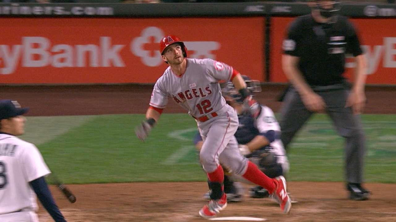 Halos' three-homer, five-run 7th