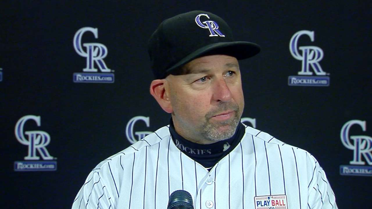 Weiss on 7-4 win over Mets