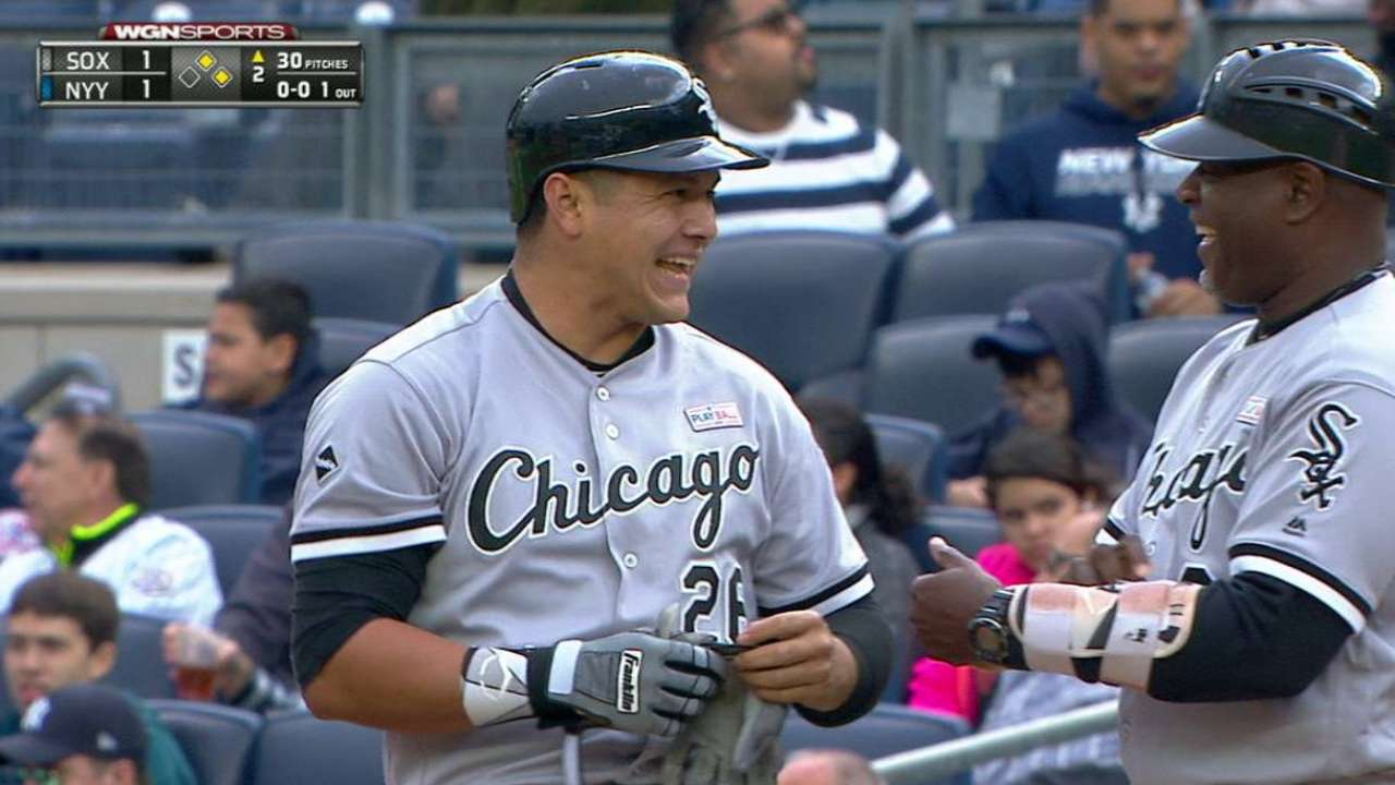 White Sox want consistency out of Garcia