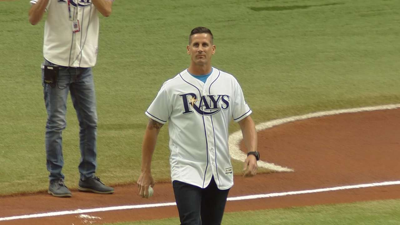 Grant Balfour's first pitch