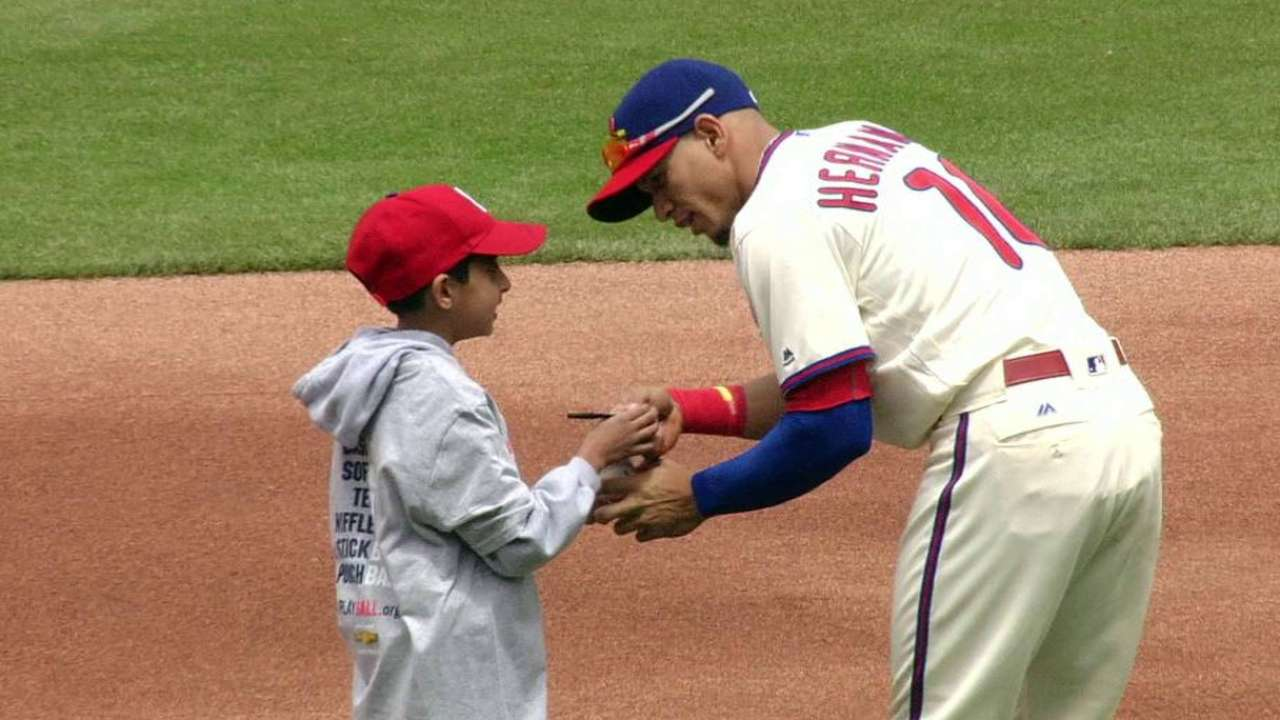 Phillies' Youth HR Derby part of Play Ball Weekend