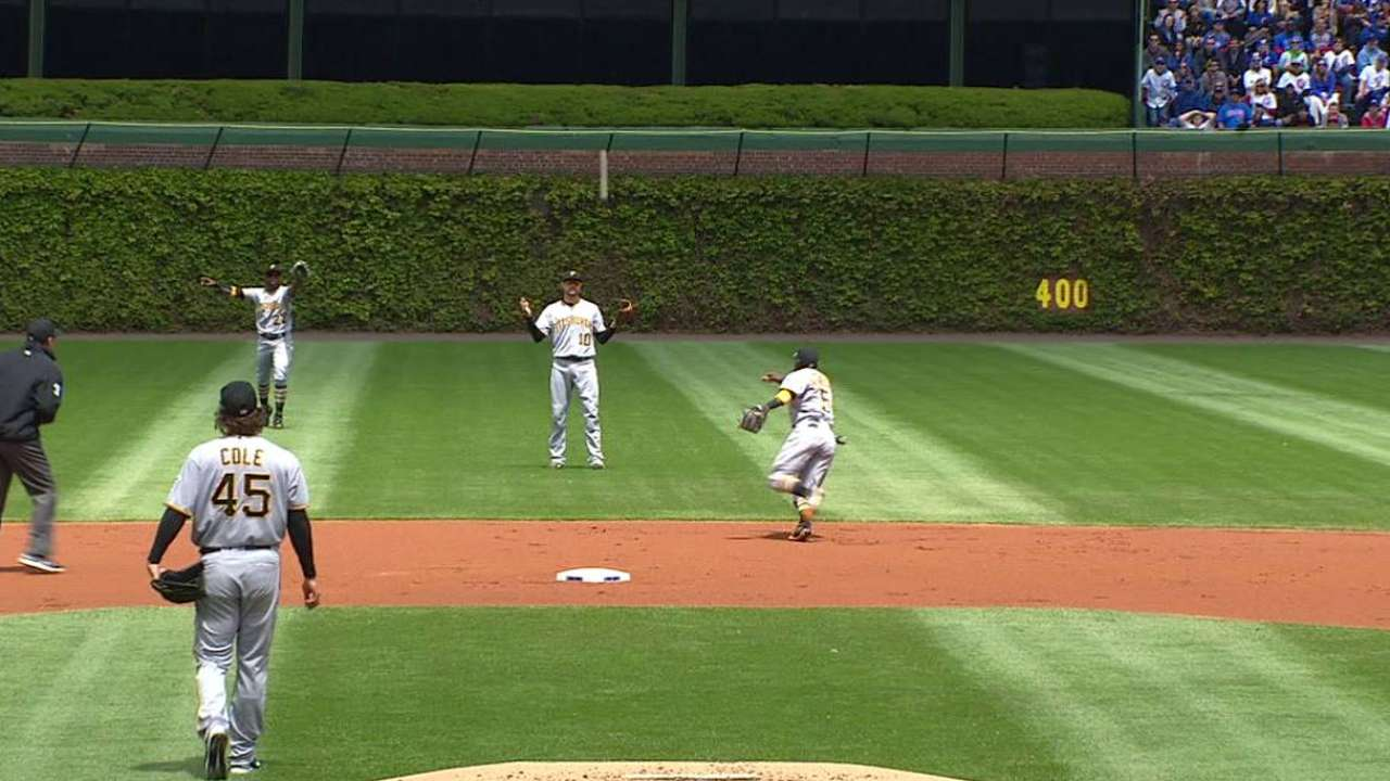 Fowler's double in the 1st