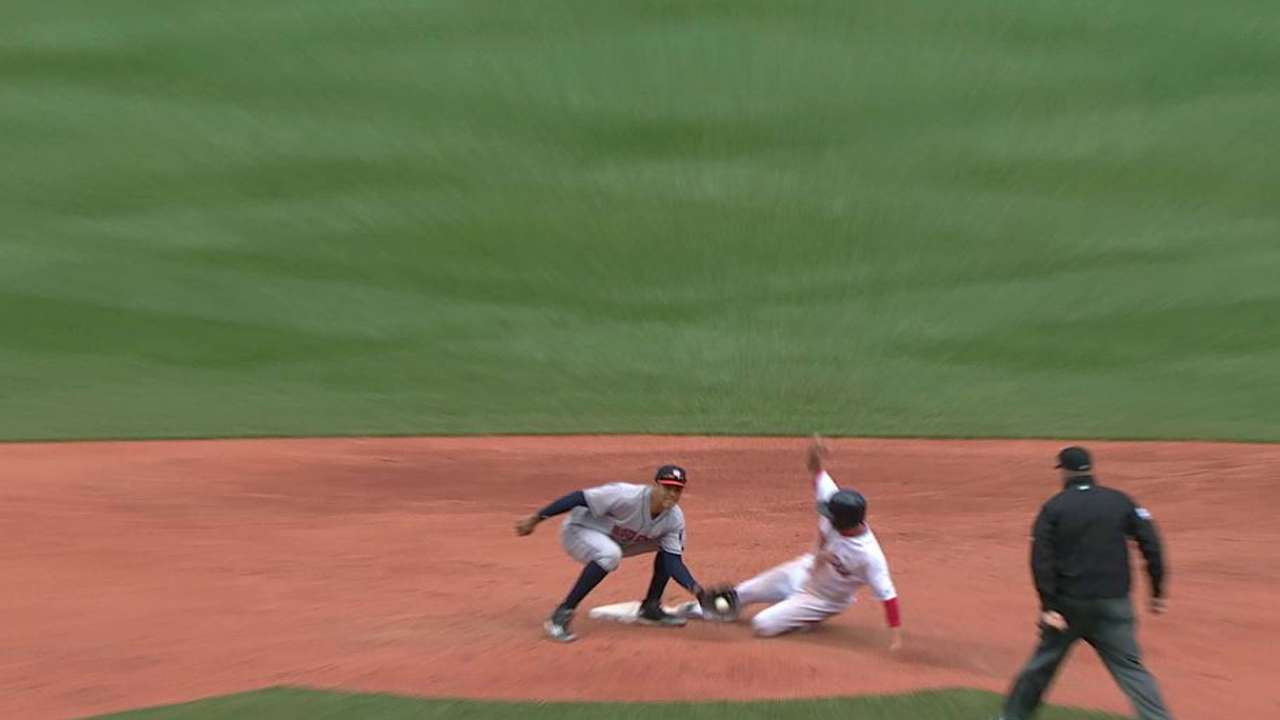 Aggressive Red Sox finding success on bases