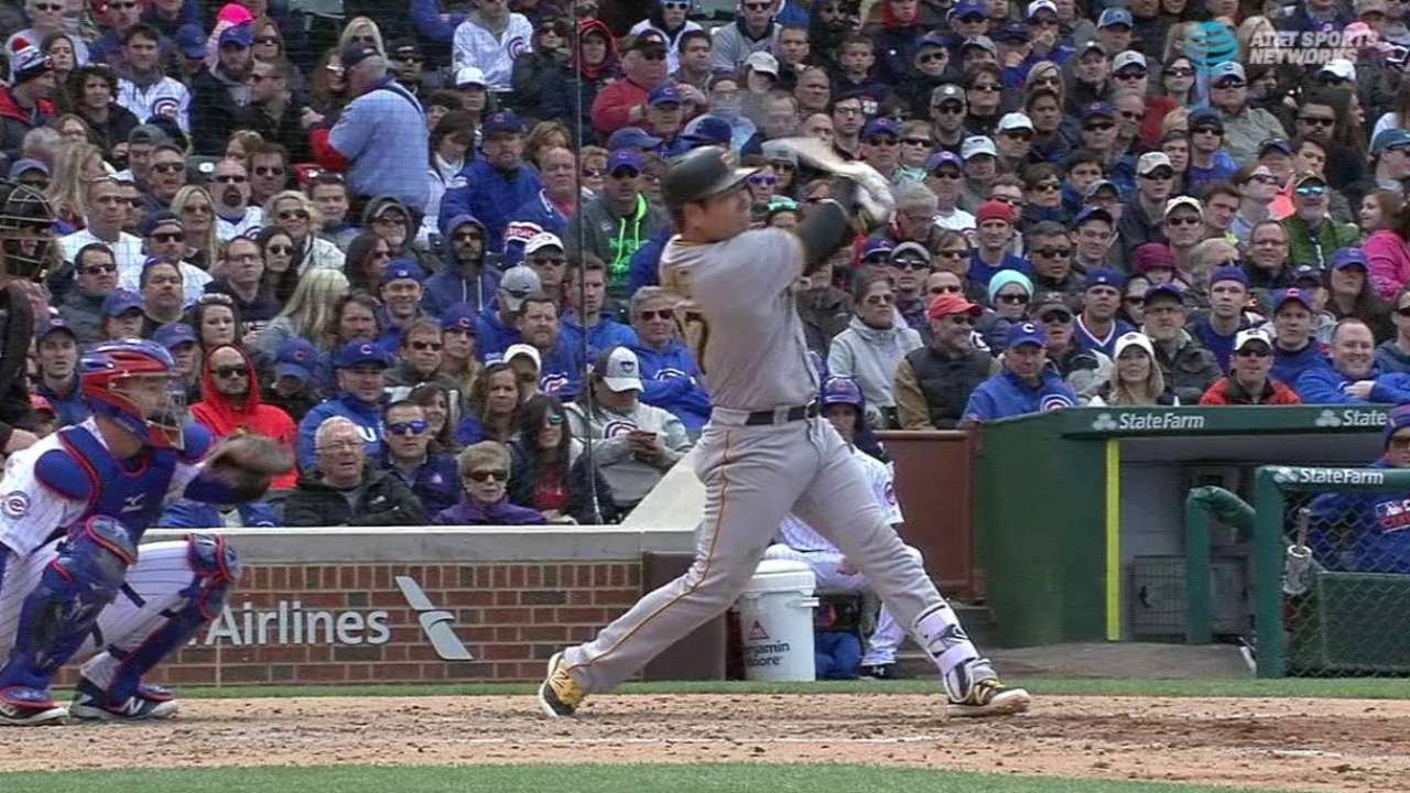 Kang's two-out RBI double