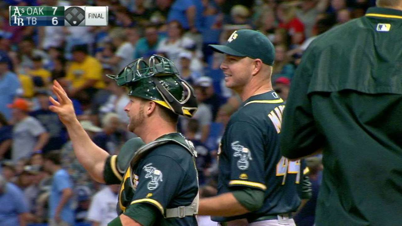 Madson earns the save