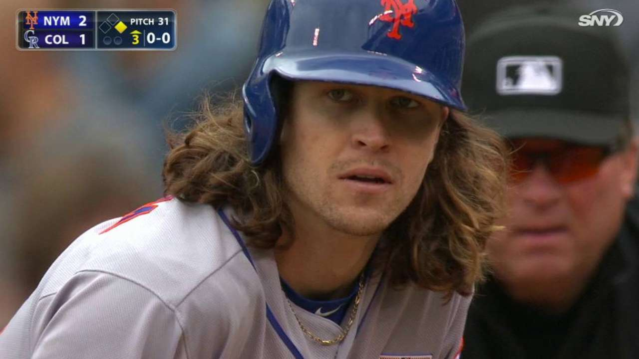 deGrom's RBI single