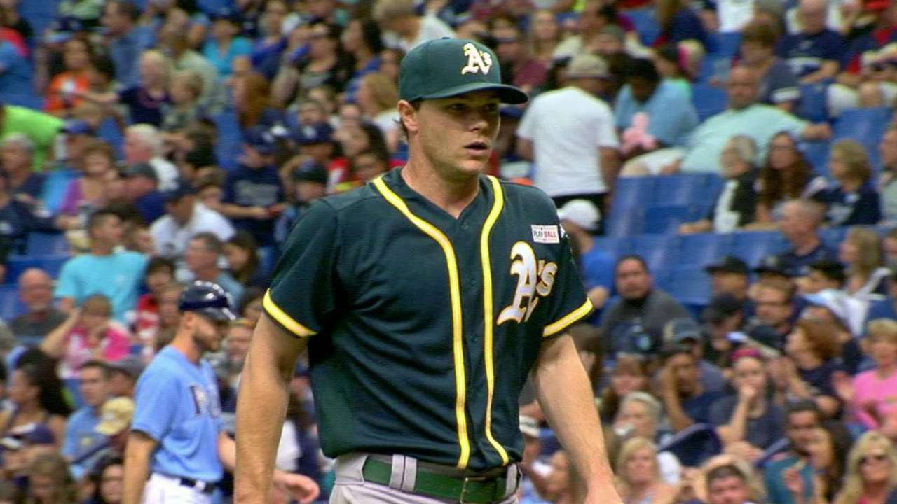 A's place ace Gray on 15-day disabled list