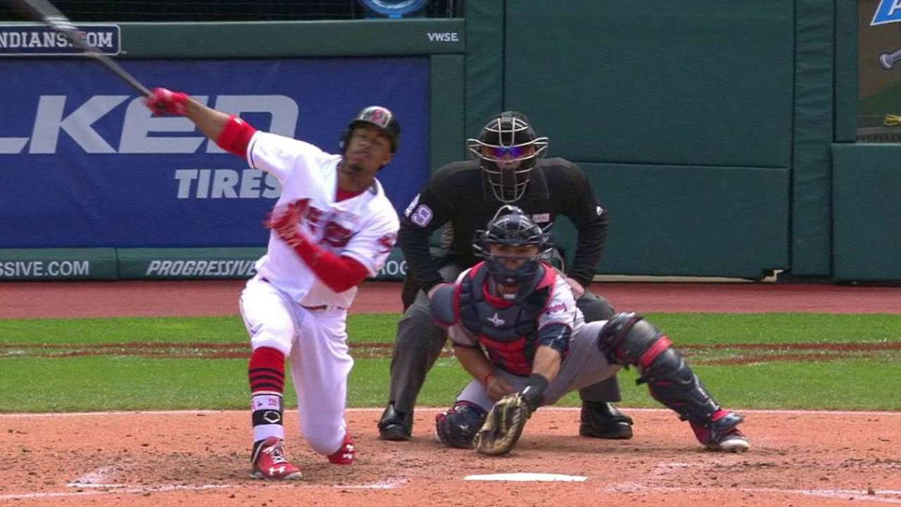 Tribe has hard time cashing in against Twins