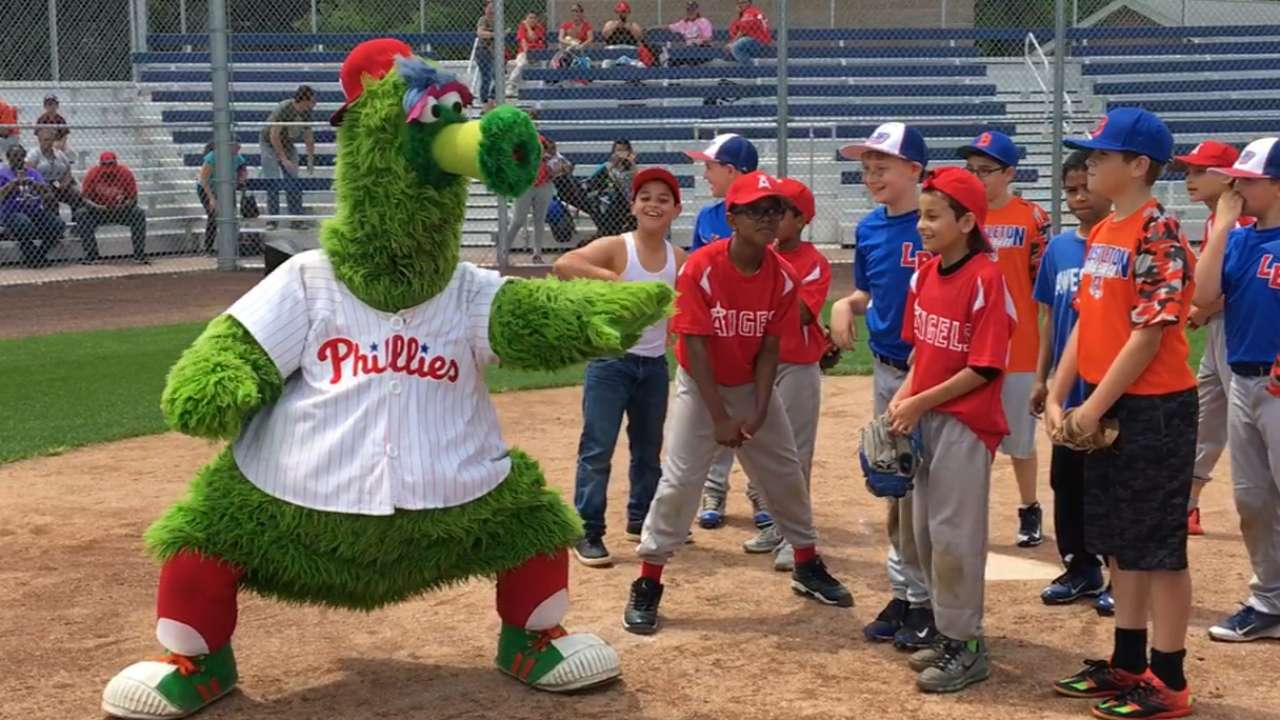 All about fun as Play Ball Weekend wraps up