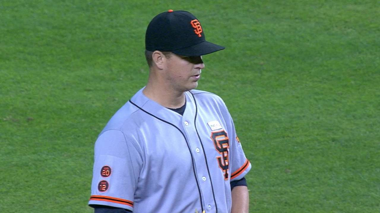 Vintage Cain is a good sign for Giants