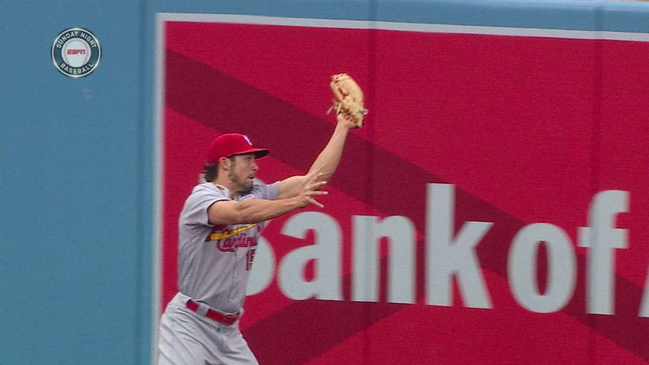 Grichuk's leaping catch