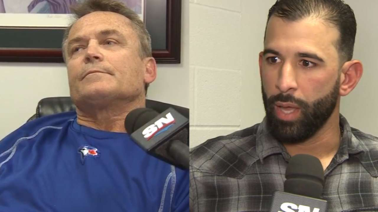 Bautista, Gibbons voice displeasure with Rangers