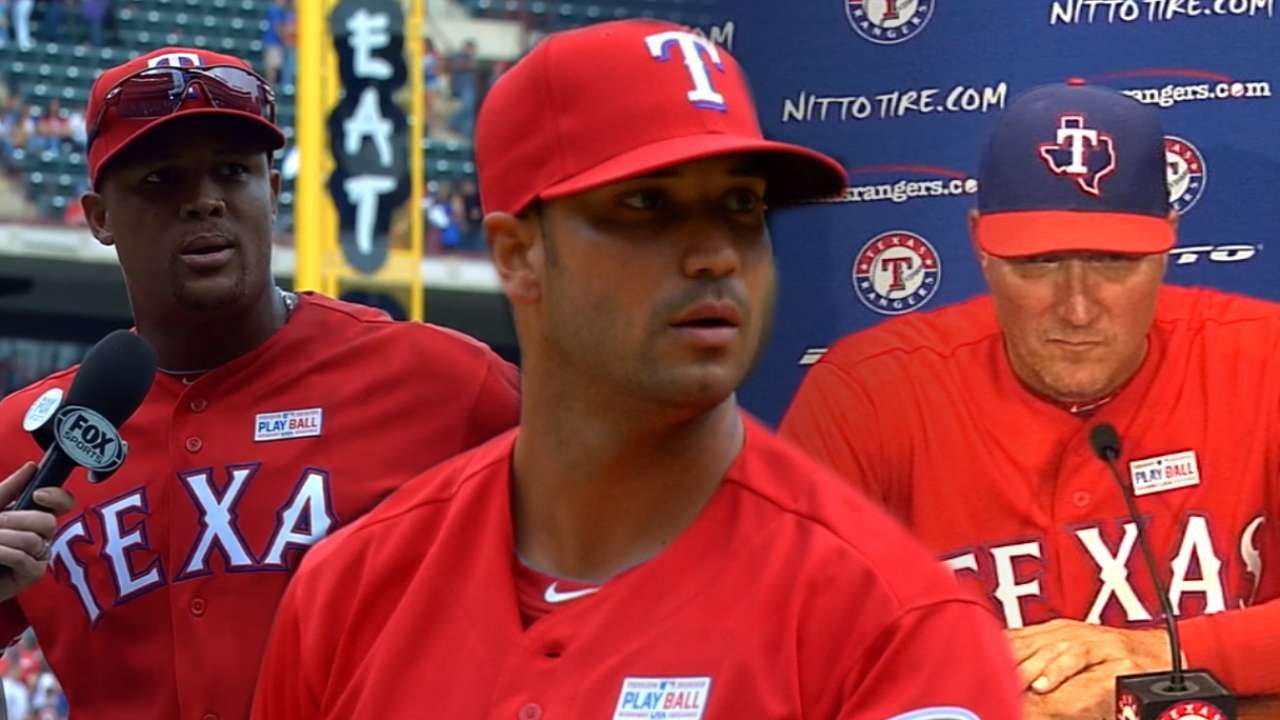 Rangers react to melee
