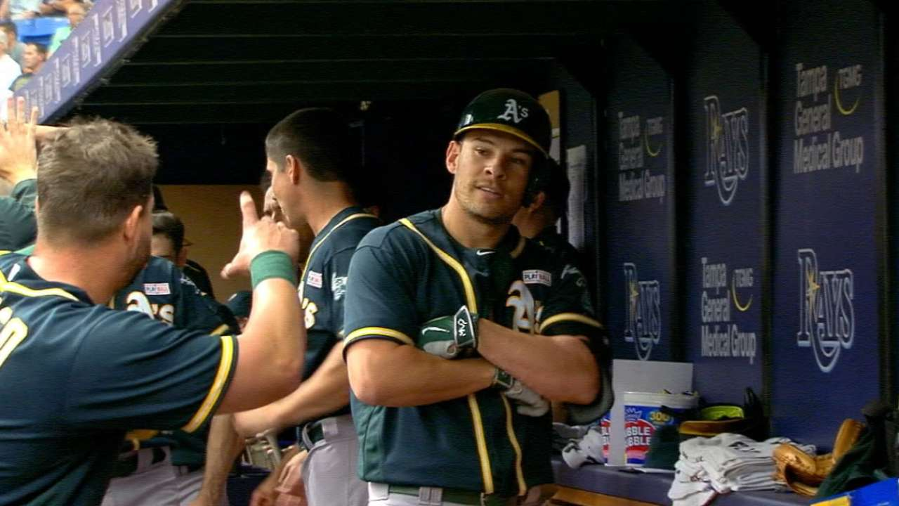 Rays series gives A's blueprint for '16 success