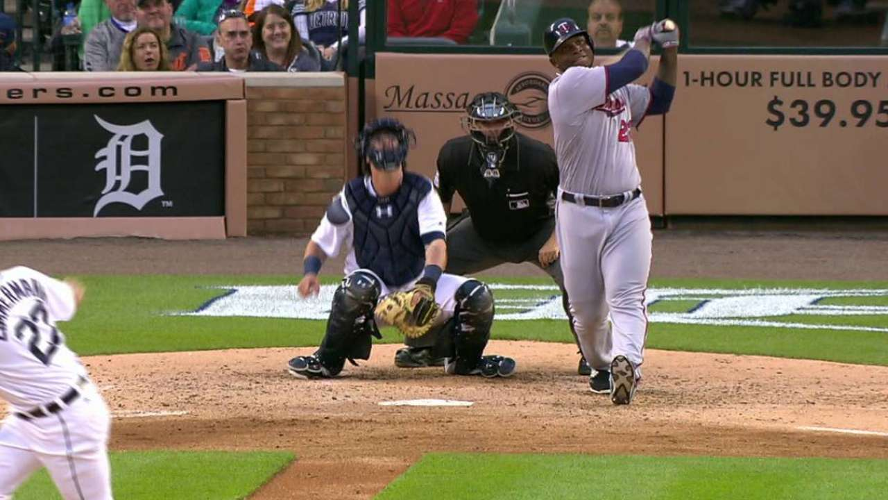 Sano's sixth homer of 2016