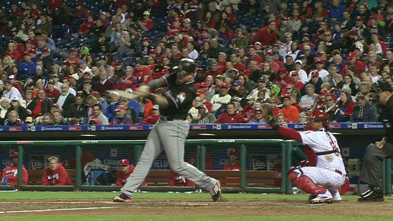 Bour's monster home run