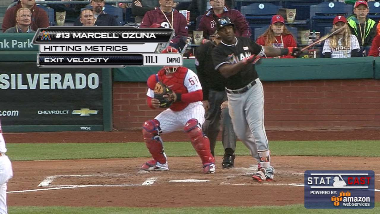 Conley's 6 strong, HRs lead Marlins past Phils