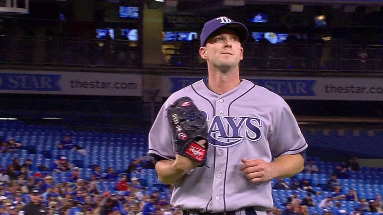Smyly induces a double play